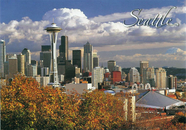 .Seattle Postcard.