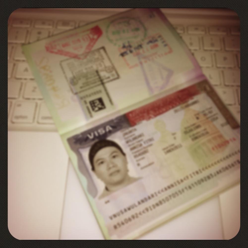 .My US Visa.