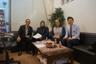 A visit to the Embassy of Indonesia