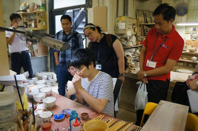 hands-on-experience in Kyoto